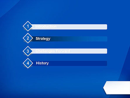 Arrow Bookmark Business PowerPoint Template Slide 3