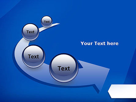 Arrow Bookmark Business PowerPoint Template Slide 6