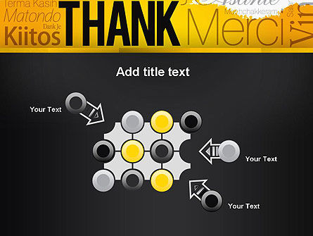 Thank You Collage PowerPoint Template Slide 10