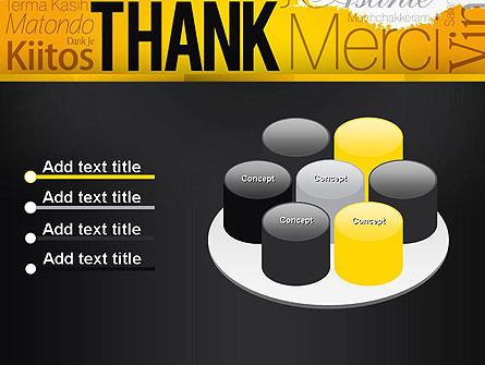 Thank You Collage PowerPoint Template Slide 12