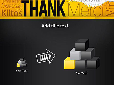 Thank You Collage PowerPoint Template Slide 13