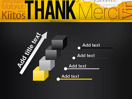 Thank You Collage PowerPoint Template Slide 14