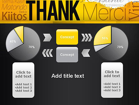 Thank You Collage PowerPoint Template Slide 16