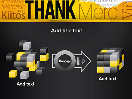 Thank You Collage PowerPoint Template Slide 17