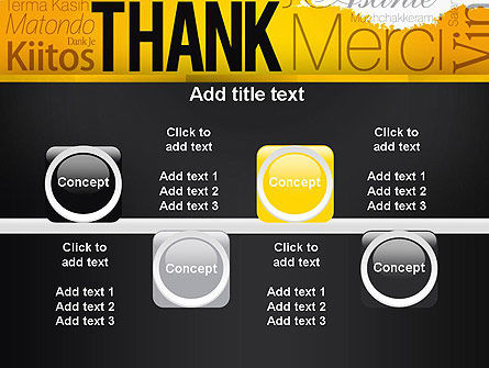 Thank You Collage PowerPoint Template Slide 18