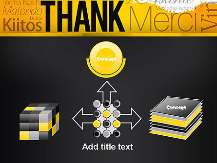 Thank You Collage PowerPoint Template Slide 19