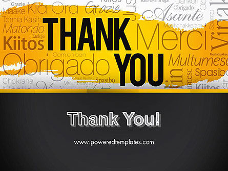 Thank You Collage PowerPoint Template Slide 20