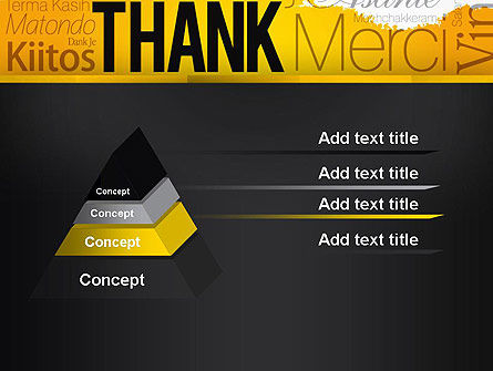 Thank You Collage PowerPoint Template, Slide 4, 13348, Education & Training — PoweredTemplate.com