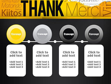 Thank You Collage PowerPoint Template Slide 5