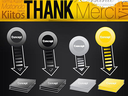 Thank You Collage PowerPoint Template Slide 8