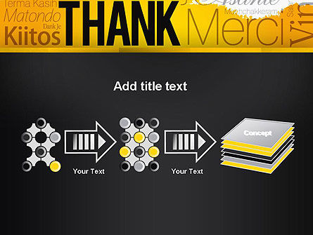 Thank You Collage PowerPoint Template Slide 9