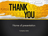 Education & Training: Thank You Collage PowerPoint Template #13348