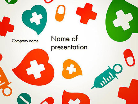 Medical Illustration PowerPoint Template, 13350, Medical — PoweredTemplate.com