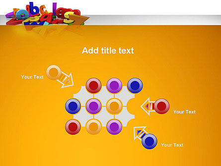 Colorful Letters PowerPoint Template Slide 10
