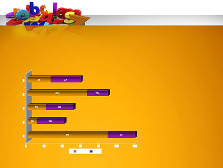 Colorful Letters PowerPoint Template Slide 11