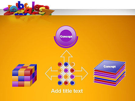 Colorful Letters PowerPoint Template Slide 19