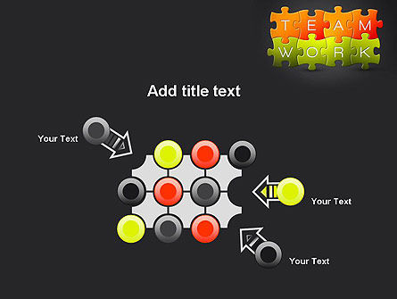 Teamwork Puzzle PowerPoint Template Slide 10