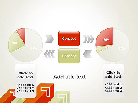 Diagonal Arrows PowerPoint Template Slide 11