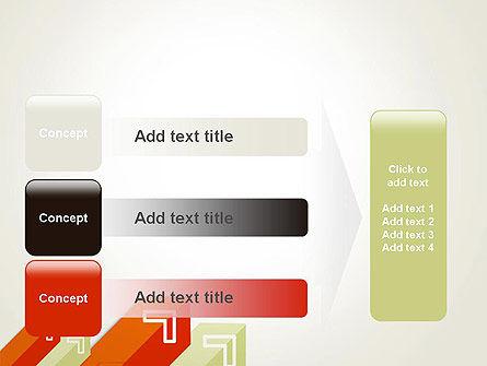 Diagonal Arrows PowerPoint Template Slide 12