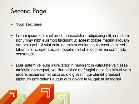 Diagonal Arrows PowerPoint Template Slide 2