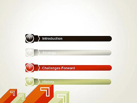 Diagonal Arrows PowerPoint Template, Slide 3, 13358, Business Concepts — PoweredTemplate.com