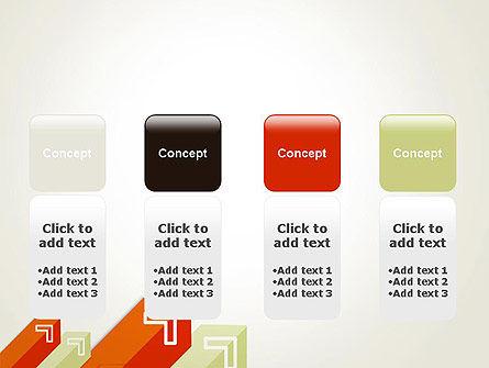 Diagonal Arrows PowerPoint Template Slide 5