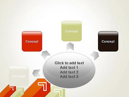 Diagonal Arrows PowerPoint Template Slide 7