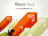 Diagonal Arrows PowerPoint Template#20