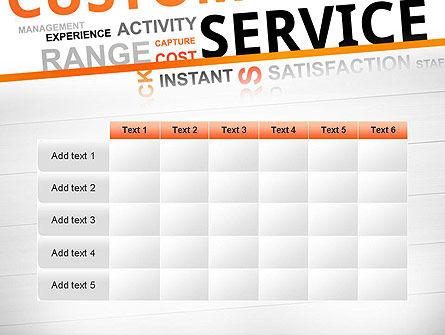 Customer Service Word Cloud PowerPoint Template Slide 15