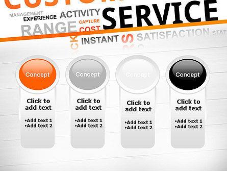 Customer Service Word Cloud PowerPoint Template Slide 5