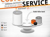 Customer Service Word Cloud PowerPoint Template#10