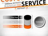 Customer Service Word Cloud PowerPoint Template#11