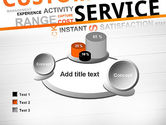 Customer Service Word Cloud PowerPoint Template#16