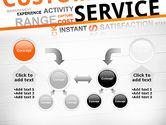 Customer Service Word Cloud PowerPoint Template#19