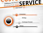Customer Service Word Cloud PowerPoint Template#3