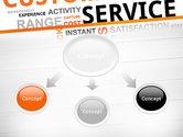 Customer Service Word Cloud PowerPoint Template#4
