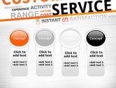 Customer Service Word Cloud PowerPoint Template#5