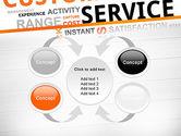 Customer Service Word Cloud PowerPoint Template#6