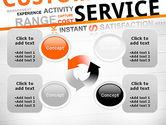 Customer Service Word Cloud PowerPoint Template#9