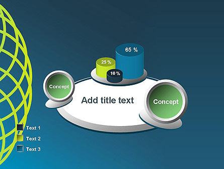Net Circles PowerPoint Template Slide 16