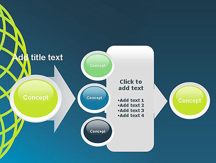 Net Circles PowerPoint Template Slide 17