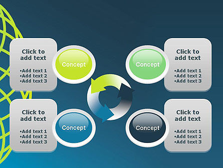 Net Circles PowerPoint Template Slide 9