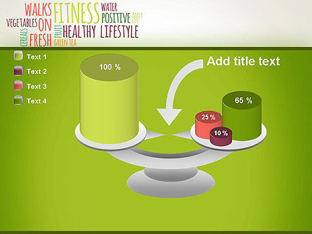Healthy Lifestyle Word Cloud PowerPoint Template Slide 10