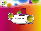 Colorful Flying Spheres PowerPoint Template#16