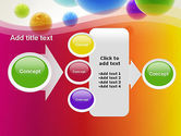 Colorful Flying Spheres PowerPoint Template#17