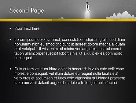 Rocket Launch PowerPoint Template, Slide 2, 13365, Technology and Science — PoweredTemplate.com