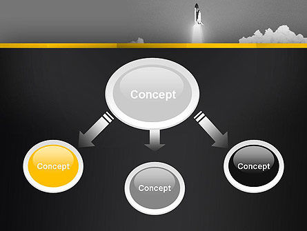 Rocket Launch PowerPoint Template Slide 4