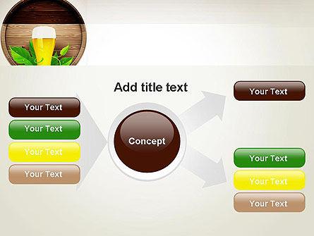 Draft Beer PowerPoint Template Slide 14