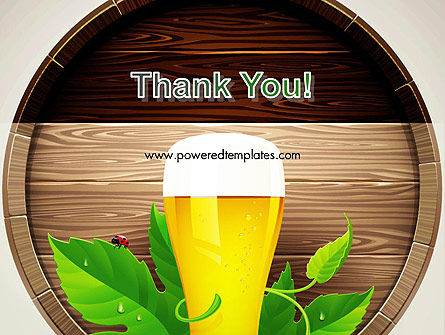 Draft Beer PowerPoint Template Slide 20