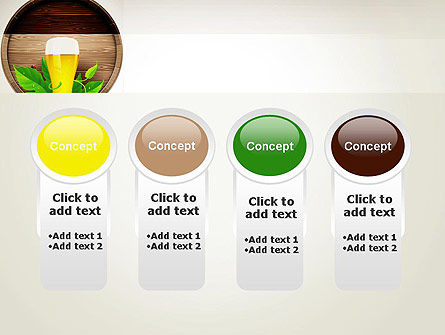 Draft Beer PowerPoint Template Slide 5